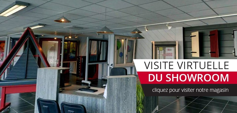 Visite virtuelle du showroom